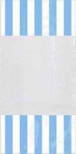Bolsas Azul Caribe de Celofán para Dulces 27cm