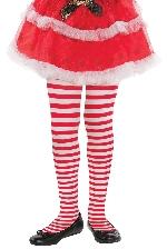 Acc. Disfraz calcetines Candy Stripe