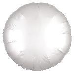 Satin Luxe White Circle