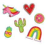 PEGATINAS VALENTINES PEEL AND STICK PATCHES