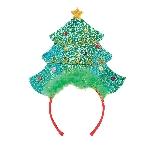 Acc. Disfraz Adulto Christmas Tree Headband