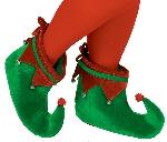 Acc. Disfraz Adulto Elf zapatos