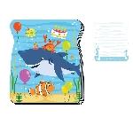 Libro Ocean Buddies Die-Cut Notepads