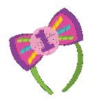 Diadema Rainbow 1st Birthday Headband Bows