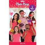 Accesorios para fotos Photocall San Valentín