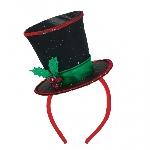 Acc. Disfraz diadema Christmas Diva 28cm x 20cm
