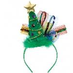 Acc. Disfraz diadema Christmas Tree Fashion 20cm x 20cm