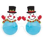 Gafas Gigantes de Muñeco de Nieve