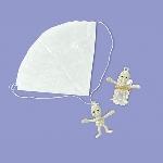 PRECIO OFERTA HALLOWEEN, DTO. NO ACUMULABLE. Esqueletos en paracaídas - 2.5cm