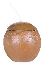 Vaso en forma de Coco - 511ml