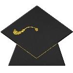 Mini Pizarras Stand-up Gorro de Graduación