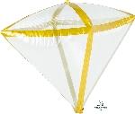 Diamondz Transparente Filo Oro