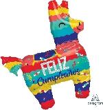 Forma Piñata Feliz Cumpleaños
