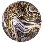 Orbz Marblez Negro 15 / 38cm x 16 / 40cm