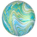 Orbz Marblez Azul-Verde 15 / 38cm x 16 / 40cm