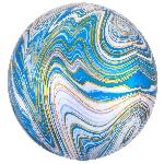 Orbz Marblez Azul 15 / 38cm x 16 / 40cm
