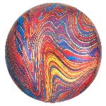 Orbz Marblez Multicolor 15 / 38cm x 16 / 40cm