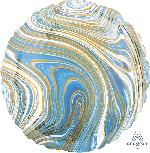 18/45cm Circulo Marblez Azul