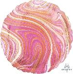18/45cm Circulo Marblez Rosa