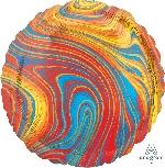 18/45cm Circulo Marblez Multicolor