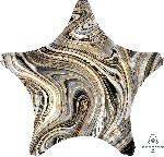 19/48cm Estrella Marblez Negro