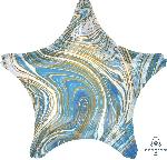 19/48cm Estrella Marblez Azul