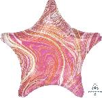 19/48cm Estrella Marblez Rosa