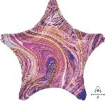 19/48cm Estrella Marblez Morado