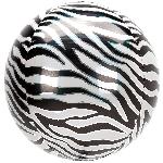 Orbz Print Animalz Zebra 38 x 40cm