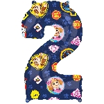 For Numero 2 Patrulla Canina 43 x 66cm