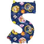 For Numero 5 Patrulla Canina 45 x 66cm
