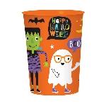 PRECIO OFERTA HALLOWEEN, DTO. NO ACUMULABLE. Vaso Plastico Halloween Friends 473ml