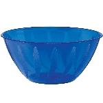 Cuenco azul con dibujo en forma de remolino-plástico 0,7L