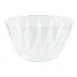 Cuenco de espiral transparente-0,7L plástico