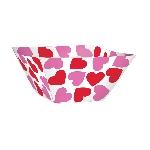 Cuencos de Papel con Corazones de San Valentín