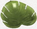 Fuente de plástico Hoja de Selva-35cm