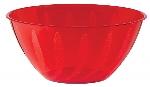 Cuenco rojo con relieve en forma de remolino-4,7L plástico