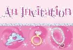 INVITACIONES PRIS: PRINCESS (6x8) (En Stock)