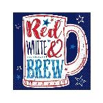 Servilletas Red, White & Brew - 25cm