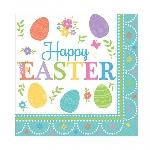 Servilletas Pascua Encantadora - 2 capas de papel