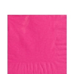 Servilletas Medianas 33cm X 33cm 20 Rosa Chicle- 2Ply