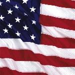 Servilletas de Almuerzo Bandera Estados Unidos de América - 3 capas de papel