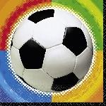 Servilletas de Campeonato de Fútbol - Servilletas 2 capas de papel para Almuerzo
