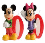 Velas Mickey and Minnie N�0
