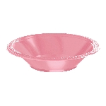 Plato Bowl Plastico 355Ml Rosa Pastel Nuevo