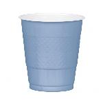 Vaso Plastico 355Ml Azul Pastel Nuevo