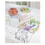 Mantel para colorear para Niños con temática de Pascuas - Decoración Pascua