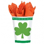 VASO 9 OZ. VALUE LCKY SHAMROCKS
