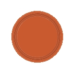 Platos 17cm Pumpkin Spice Paper