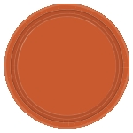 Platos 25cm Pumpkin Spice Paper